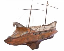 19 Ben Hur Screen-Used Miniature Ships