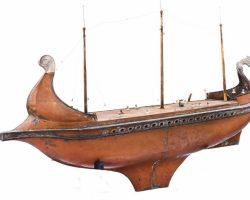 19 Ben Hur Screen-Used Miniature Ships