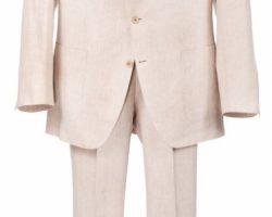 Pierce Brosnan 2-Piece Linen Suit For The World Is Not Enough