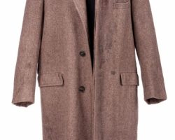 "Marlon Brando ""Don Vito Corleone"" Assassination Overcoat Worn In The Godfather"