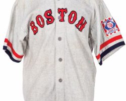 "The Natural ""Boston"" Baseball Team Uniform"