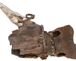 Edward Scissorhands Mechanical Metal Hero Right Scissor Hand And Partial Left Hand Glove