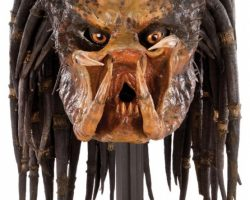 Predator Stunt Mask With Wire Armature