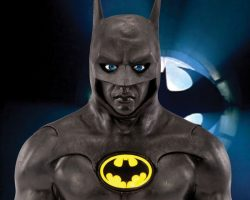 Michael Keaton Batman Cowl