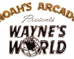 "Wayne's World Original Screen-Used ""Noah's Arcade"" Neon Sign"