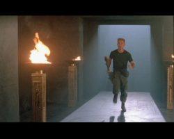 Stargate (Film) Stylized Torch Pillar And Tomahawk