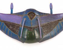 Stargate Forced-Perspective Miniature Death Glider
