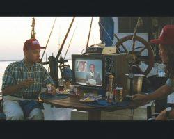 """Tom Hanks """"Forrest"""" Striped Short-Sleeve Shirt From Forrest Gump"""