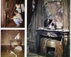 "Kate Winslett ""Rose"" Fireplace From Titanic"