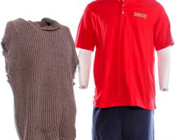 Creed 2 Ivan Drago Dolph Lundgren Screen Worn Sweater Shirt & Pants Ch 17 & 22