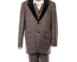 Creed 2 Bianca Screen Worn Photo Double Suit & Shirt Ch 1 Sc 88