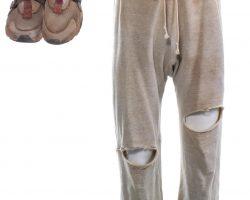 Creed 2 Adonis Creed MIchael B Jordan Screen Worn Pants & Shoes Ch 40 Sc 165