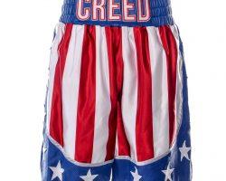 Creed 2 Adonis Creed MIchael B Jordan Screen Worn Boxing Shorts Ch 18 Sc 77-99