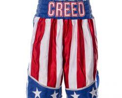 Creed 2 Adonis Creed Michael B Jordan Screen Worn Shorts Ch 18 Sc 77-99
