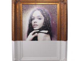 Creed 2 Adonis & Bianca Screen Used La Loft Bianca Painting