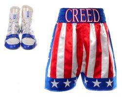 Creed 2 Adonis Creed MIchael B Jordan Screen Worn Shorts & Shoes Ch 1
