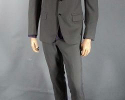 RoboCop Tom Pope Jay Baruchel Screen Worn Lanvin Suit Shirt CH 2 SC 42