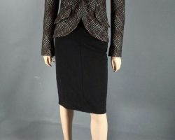 RoboCop Liz Kline Jennifer Ehle Screen Worn Smythe Jacket Shirt Skirt CH 2 SC 35