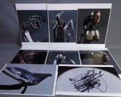 RoboCop Production Used Robocop Assembly Table Concept Art Set