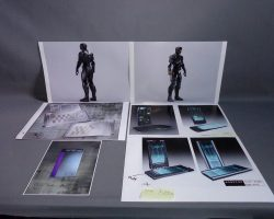 RoboCop Production Used Cell Phones Concept Art Set