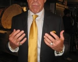 Ron Perlman Watch and Rings from Drive