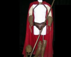 300 Spartan Solider Movie Costumes