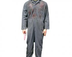Michael Myers Figure with Screen Worn Halloween H2