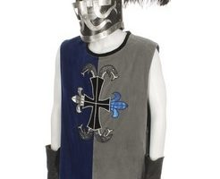 Jim Carrey Medieval Tunic, Gloves and Helmet from