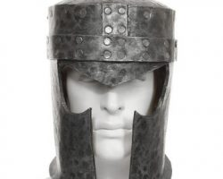 Jim Carrey Medieval Helmet from The Cable Guy