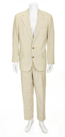 George Costanze (Jason Alexander) White Suit from