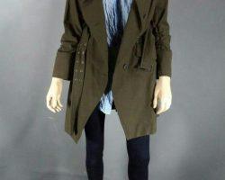 Warehouse 13 Hg Wells Jaime Murray Screen Worn Stunt Coat Shirt Pants and Belt