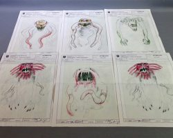 Warehouse 13 Screen Used Hp Lovecraft Silver Key Artifact and Police Sketches 402