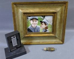 Warehouse 13 Claudia and Steve Jinks Screen Used Photo Sim Card Reader and Lighter