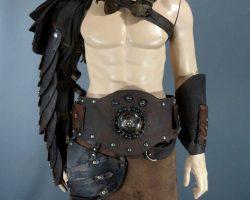 Warehouse 13 Pete Lattimer Eddie Mcclintock Screen Worn Gladiator Costume