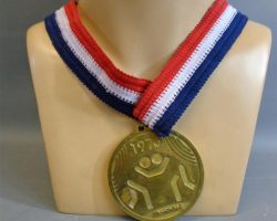 Warehouse 13 Screen Used 1976 Wrestling Medal Prop Ep 207
