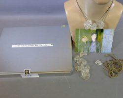 Warehouse 13 Screen Used Crystalline Diamond Necklace Prop Set Multiple Episodes