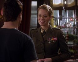 Warehouse 13 Amanda Lattimer Jeri Ryan Military Uniform Ep 304
