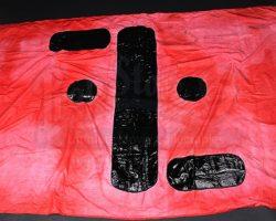 V (TV Series) Large Red Visitors Flag