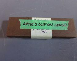 Warehouse 13 Artie Nielsen Saul Rubinek Screen Worn Glasses With Clip On Lenses