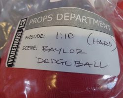 Warehouse 13 Screen Used Baylor Dodgeballs and Sticky String Artifact Prop Set 110