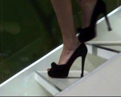 Warehouse 13 Myka Joanne Kelly Screen Worn Christian Louboutin Shoes Ep 204