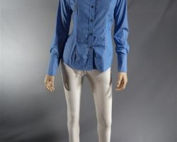 Warehouse 13 Hg Wells Jaime Murray Screen Worn 868 Shirt and Rag and Bone Pants S2