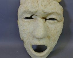 Warehouse 13 Screen Used Sodom And Gomorrah Salt Mask Artifact Prop Ep 417
