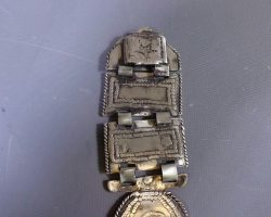 Warehouse 13 Screen Used Silver Necklace From The Atacama Desert Mines Artifact