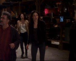 Warehouse 13 Myka Joanne Kelly Screen Worn Stunt Helmut Lang Jacket and Pants