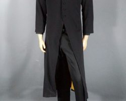 Warehouse 13 Brother Adrian Brent Spiner Robe Shirts and Ted Baker Pants Ep 407
