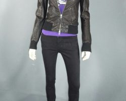 Warehouse 13 Claudia Allison Scagliotti Worn Mackage Jacket Shirt and Pants Ep 307