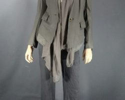 Warehouse 13 Hg Wells Jaime Murray Screen Worn Jacket Shirt and Pants Ep 305 and 311