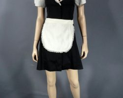 Warehouse 13 Myka Bering Joanne Kelly Screen Worn Maid Costume Ep 504