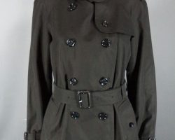 Warehouse 13 Myka Bering Joanne Kelly Screen Worn Burberry Trench Coat Ep 313